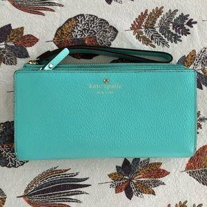 Kate Spade Tiffany Blue full size wallet